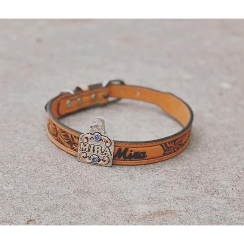 Custom Leather Dog Collar