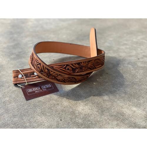 "Coolhorse Leather 1 1/2"" Custom Belt"