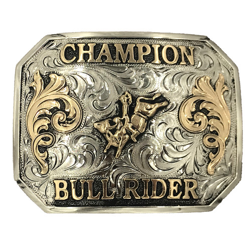 Ready to Ship Champion Bull Rider Buckle