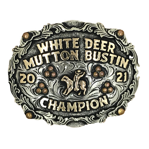 The White Deer Trophy Buckle