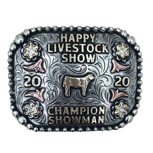 The Fairview Trophy Buckle