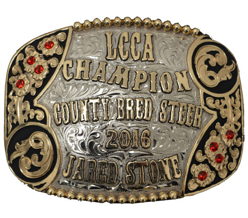 The Ballinger Trophy Buckle