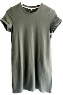 Joy Joy Pullover Tee Dress, Olive