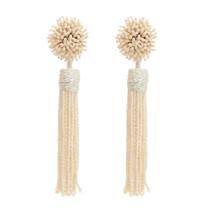 Mignonne Gavigan Lana Earrings, Ivory