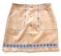 Joy Joy Embroidered Skirt