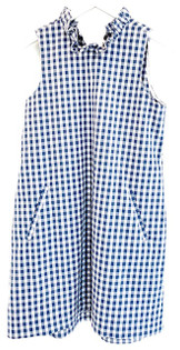 Tyler Boe Stella Dress, Gingham Cadet