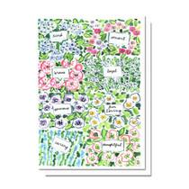 Evelyn Henson Flower Market Card