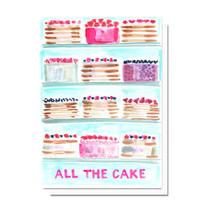 Evelyn Henson All the Cake Card