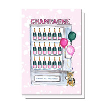 Evelyn Henson All the Champagne Card