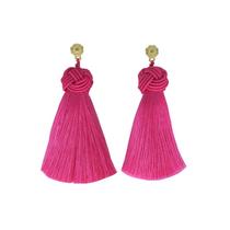 Hart Top Knot Earrings - Babs Pink