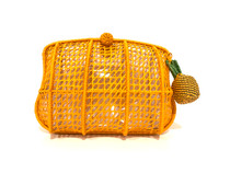 Serpui Blair Bag, Yellow Pineapple