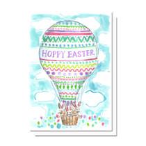 Evelyn Henson Hoppy Easter Card