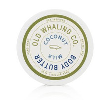 Old Whaling Co. Travel Size Body Butter, Coconut MIlk