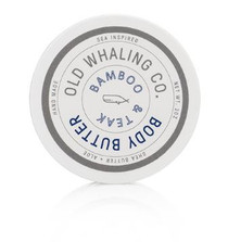 Old Whaling Co. Travel Size Body Butter, Bamboo & Teak