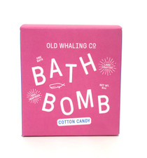 Old Whaling Co. Bath Bomb, Cotton Candy