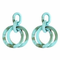 Turquoise Layered Earrings