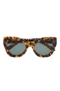 Karen Walker Northern Lights Sunglasses, Crazy Tort