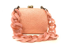 Serpui Lolita Bag, Peach