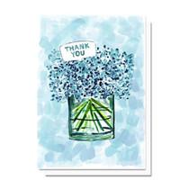 Evelyn Henson Thank You Blue Hydrangea Card