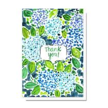Evelyn Henson Thank You Hydrangea Garden Card