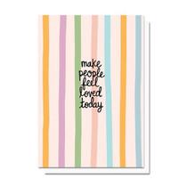 Evelyn Henson Confetti Stripes Card