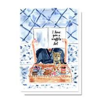 Evelyn Henson Waffle Lot Card