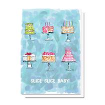 Evelyn Henson Slice Slice Baby Card