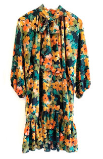 Tyler Boe Autumn Floral Dress