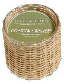 Field + Fleur Coastal Balsam Handwoven Candle