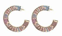 Mignonne Gavigan Aztec Fiona Hoop Earring