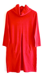 Tyler Boe Kim Sweater Dress, Scarlet