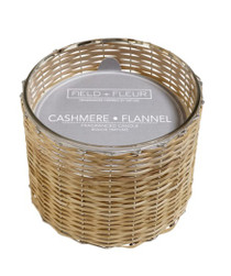 Field + Fleur 3 Wick Candle, Cashmere Flannel