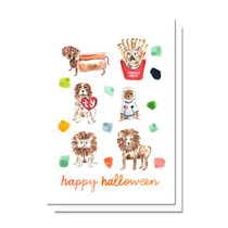 Evelyn Henson Halloween Pups Card