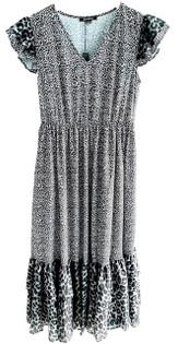 Acrobat Zadie Peasant Dress