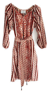 Kopal Khar Dress, Brick