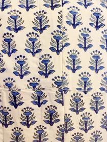Livro Shirtdress, Blue on Beige Provencal