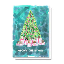 Evelyn Henson Meowy Christmas Card