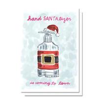 Evelyn Henson Hand Santa-tizer Card