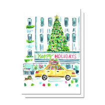 Evelyn Henson Christmas Time in the City Card