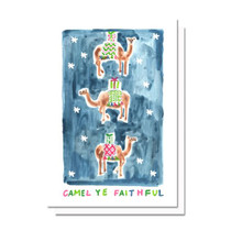 Evelyn Henson Camel Ye Faithful Card