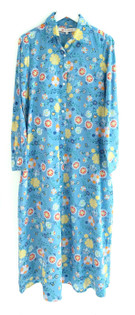 Ro's Garden Frannie Dress, Blue Gardenia