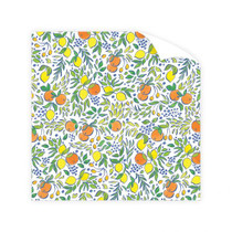 Dogwood Hill Wrapping Paper Roll, Calabria Citrus