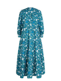 Pink City Prints Georgie Dress, Retro Olive