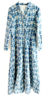 Livro Shirtdress, Blue Blooms