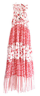 Ro's Garden Sofia Maxi Dress, Provence Red