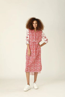 Ro's Garden Brooklyn Dress, Provence Red