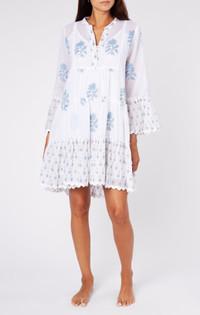 Juliet Dunn Rose Flare Dress