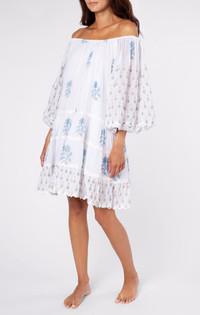 Juliet Dunn Rose Boho Layer Dress