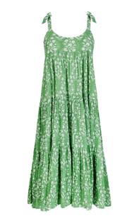 Juliet Dunn Flower Sun Dress