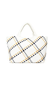 Naghedi St. Barths Medium Tote, Malibu Plaid